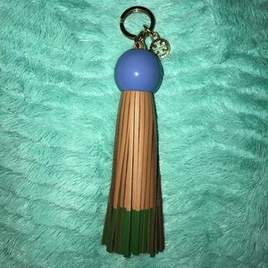 Tory Burch Keychain/Bag Charm